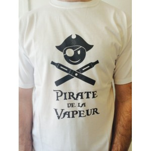 Smiley Pirate - T-shirt vape - Pirates de la vapeur