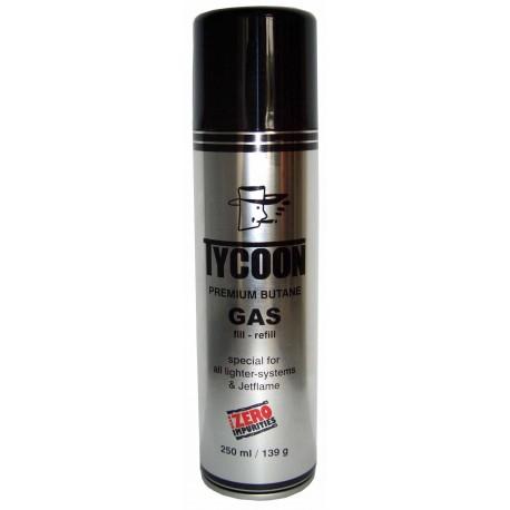 Gaz Butane Premium Tycoon - 250 ml