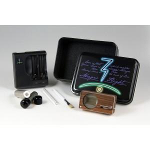 Magic-Flight Launch Box Noyer (Walnut) - vaporisateur portable MFLB
