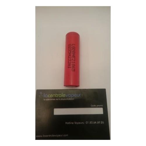 Batterie 18650 2500mah LG Accu Li-ion