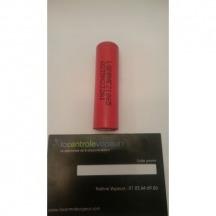 Batterie LG 18650 2500mah Li-ion