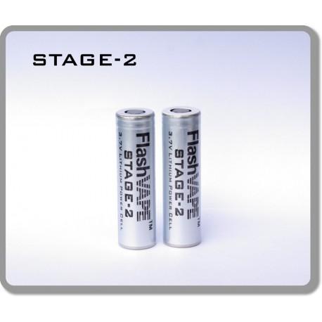 Batteries S-2 pour vaporisateur FlashVape Stage-2