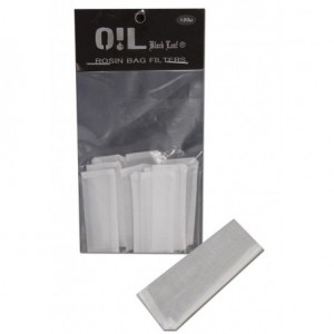 Rosin Bag Filter Black Leaf