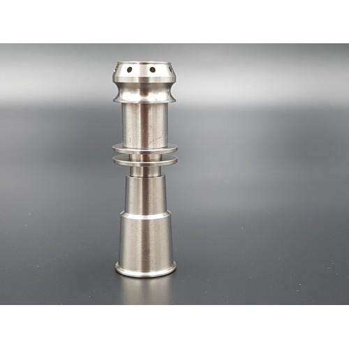 Clou Universel domeless titane pour E-nail - 10, 14 et 18 mm mâle/femelle