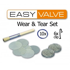 Easy Valve set d'usure - wear and tear set volcano easy valve