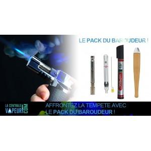 Pack du baroudeur - Vaporisateur à briquet The M, Lithe et Vaponic