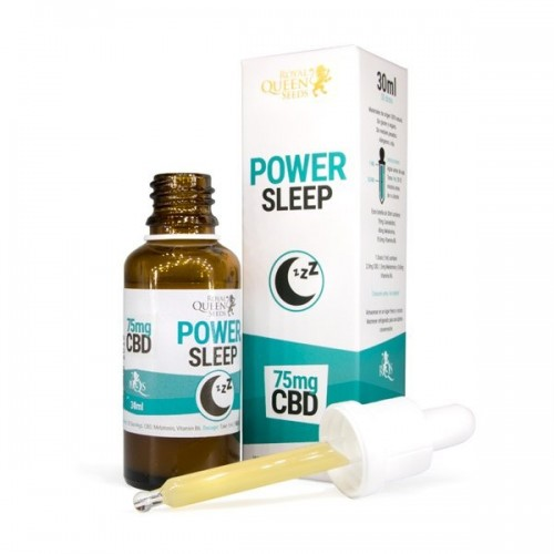 Power Sleep CBD - Royal Queen Seeds - Complément alimentaire CBD