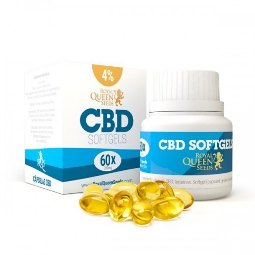 Gélules Souples au CBD - Royal Queen Seeds CBD