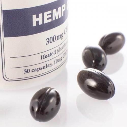 Capsules d'huile de 300mg de CBD