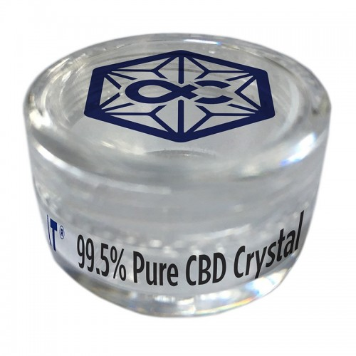 Cristaux de CBD 99.5% pur - Alpha-Cat