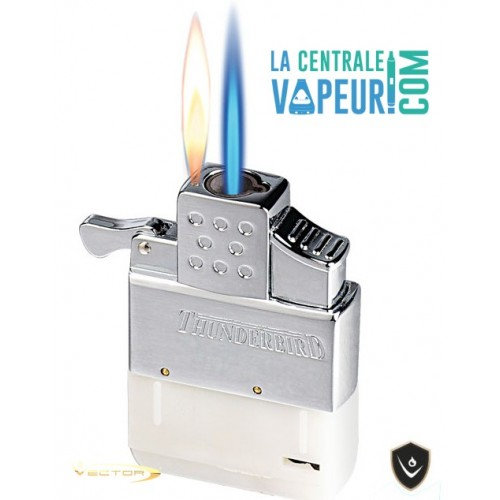 The Thunderbird Vector – Briquet double flamme – Thunderbird Dual-Flame