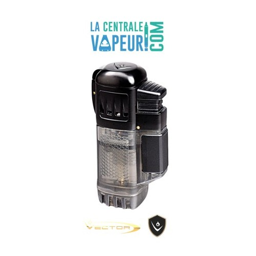 Quadtank Vector– Briquet torche quadruple flammes –