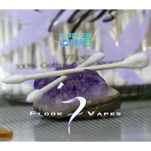 Tidy Tips - 7th FloorVape - Coton-tiges 7th FloorVape