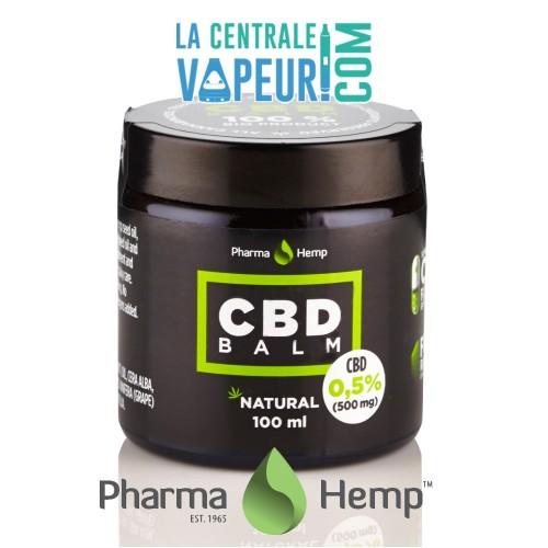 CBD BALM 0,5% en 100ml / Baume CBD 0,5% en 100ml - Pharma Hemp