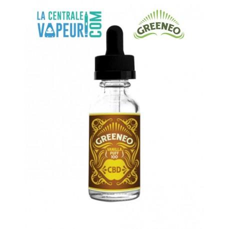 Vanilla Puff - CBD - Greeneo - 10ml - e-liquide avec ou sans CBD