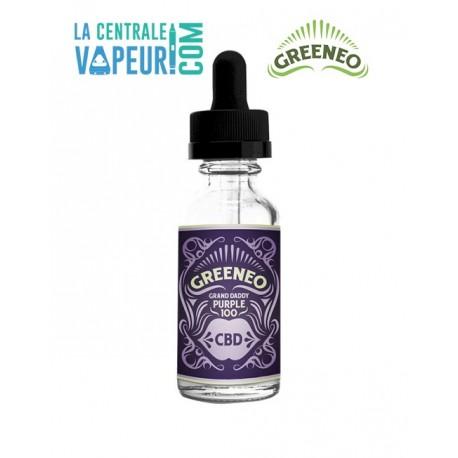 Grand Daddy Purple - CBD - Greeneo - 10ml - e-liquide avec ou sans CBD