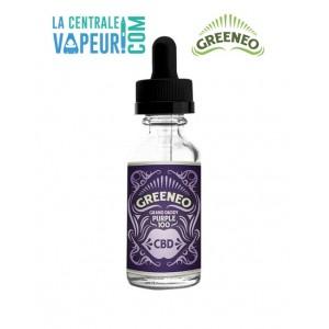 Grand Daddy Purple Greeneo - 10ml - E-liquide avec ou sans CBD / Liquide pour cigarette électronique