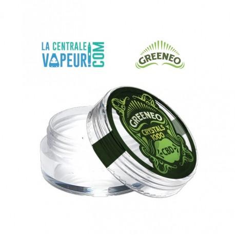 Crystaux de CBD Greeneo - Crystal de CBD