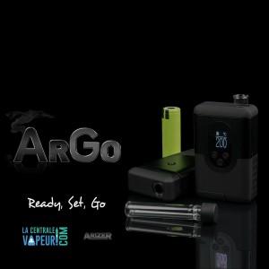 Arizer ArGo - Vaporisateur portable Arizer (Arizer Go) - Arizer