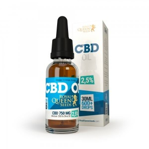 Huile de CBD 10% à 2.5% - 30ml - Royal Queen Seeds