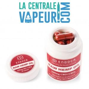 Capsules d'huile de chanvre pure 1500 mg CBD + CBDa - Endoca