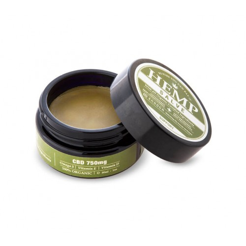 Baume au chanvre 750mg CBD Endoca - CBD salve