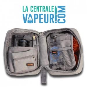Vapesuite Large - pochette pour vaporisateurs - Large Grey