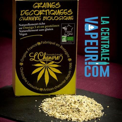 Graines décortiquées de chanvre biologique - L'Chanvre