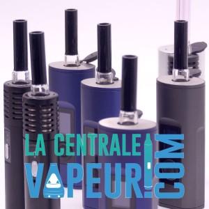 Stem Arizer Air / Solo Transparent et Noir - Embout buccal pour vaporisateur