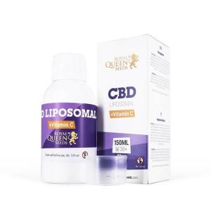 Vitamine C liposomique avec CBD - 150 ml pour 90mg de CBD - Royal Queen Seeds