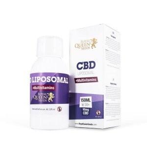 Multivitamine liposomique avec CBD - 150 ml pour 90mg de CBD - Royal Queen Seeds