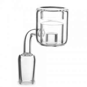 banger en quartz thermo reactor double parois - 14 mm mâle