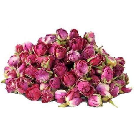 Rose de Damas - 30 grammes de fleurs et pétales - Rosa x Damascena