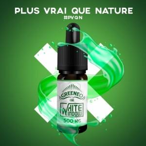 White Window - 10ml - Greeneo - E-liquide CBD pour cigarette électronique