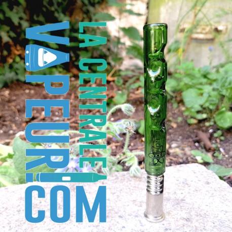 Le Sceptre d'Alania - Orion - green glass stem pour Dynavap