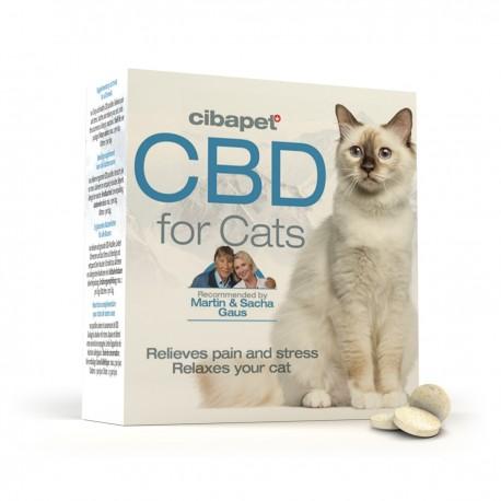 Cibapet 4% - 55 pastilles de CBD pour Chat