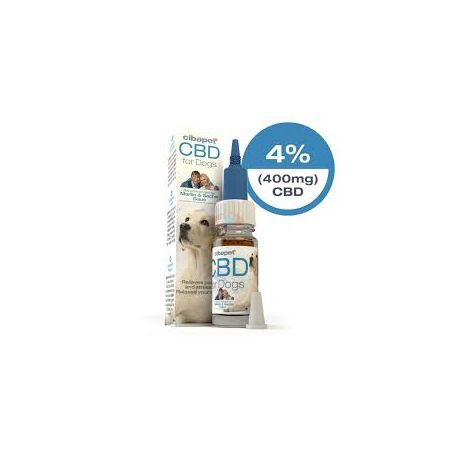 Huile 4% pour Chien- 10 ml - Cibapet Cibdol