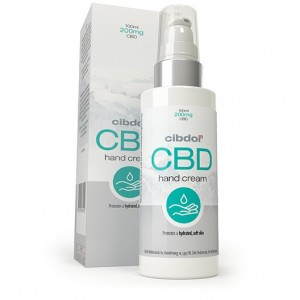 Crème main au CBD Cibdol