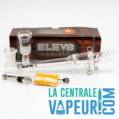 Elev8R Glass Vaporizer – Vaporisateur portable en verre 7th Floorvapes.