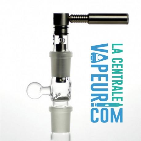 Système Ti Herborizer 14 ou 18 mm - Vaporisateur plantes et concentrés