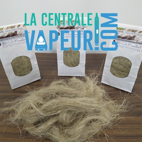 Degummed hemp fiber - Fibre en chanvre naturel