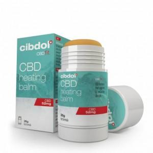 Baume chauffant CBD 52mg - Cibdol