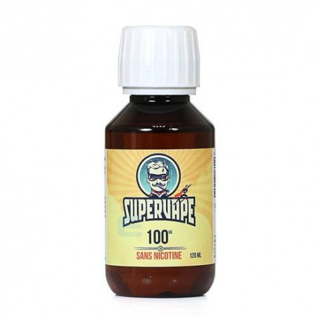 Base 100% VG Supervape 120 ml sans nicotine