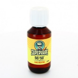 Base 50% VG 50% PG Supervape 120 ml sans nicotine