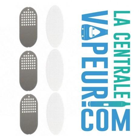 AirVape Xs GO set de grilles