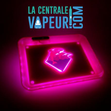 Plateau LED Pink Dolphin Glowtray